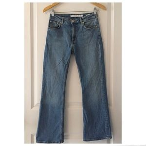 & Other Stories Cropped Flare Jeans